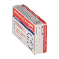 Paracetamol 250 mg HEXAL® Zäpfchen