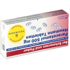Paracetamol 500 mg Heumann Tabl.