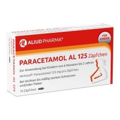Paracetamol AL 125 Zäpfchen