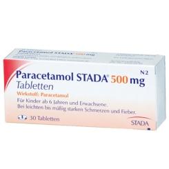 Paracetamol Stada 500 Tabletten