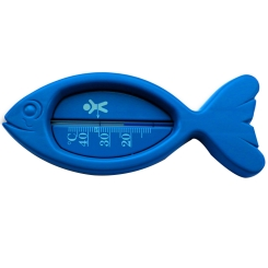 PARAM Badethermometer Kunststoff Fisch blau