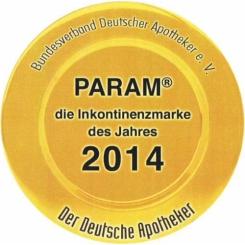 PARAM FIXIERSLIPS PREMIUM Gr. 3 für 120-160 cm Umfang