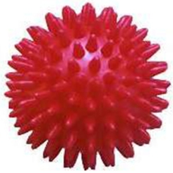 PARAM Igelball 9 cm rot