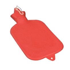 PARAM Wärmflasche 2 Liter Rot