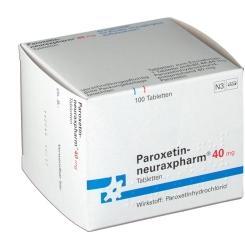 PAROXETIN neuraxpharm 40 mg Tabletten