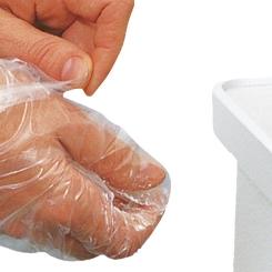 Peha-fol® Einmalhandschuhe Nr. 1 Damen