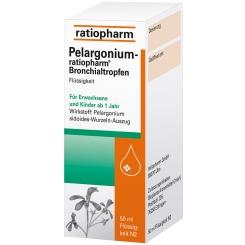 Pelargonium-ratiopharm® Bronchialtropfen