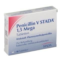 Penicillin V Stada 1,5 Mega Filmtabl.
