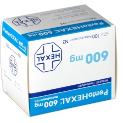 Pentohexal 600 retard Tabletten