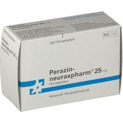 Perazin neuraxpharm 25 Filmtabl.