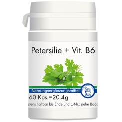 Petersilie + Vitamin B6