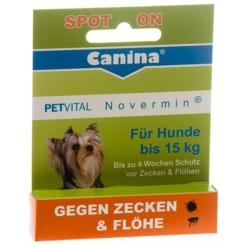 PETVITAL® Novermin® für Hunde bis 15kg