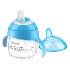 Philips® AVENT Becher mit Trinkschnabel blau 200 ml