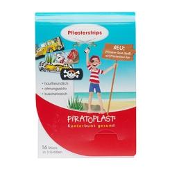 Piratoplast® Pflaster Strips für Jungs 19 x 38 mm