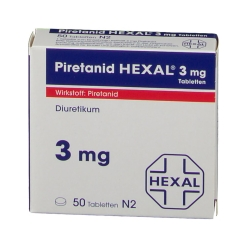 PIRETANID HEXAL 3 mg Tabletten