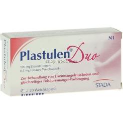 Plastulen® Duo 102 mg Eisen / 0,5 mg Folsäure Weichkapseln