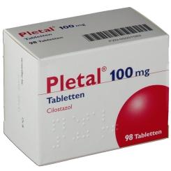 Pletal 100 mg Tabletten
