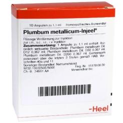 Plumbum metallicum-Injeel® Ampullen