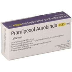 PRAMIPEXOL Aurobindo 0,35 mg Tabletten