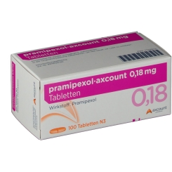 PRAMIPEXOL axcount 0,18 mg Tabletten