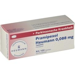 PRAMIPEXOL Heumann 0,088 mg Tabletten