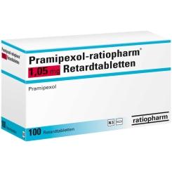 PRAMIPEXOL RATIO 1.05 RET
