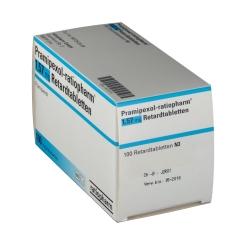 PRAMIPEXOL ratiopharm 1,57 mg Retardtabletten