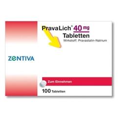 Pravalich 40mg Tabletten