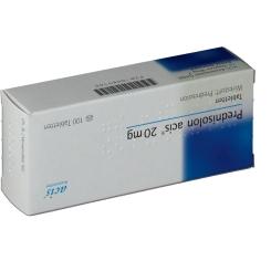 Prednisolon Acis 20 mg Tabl.