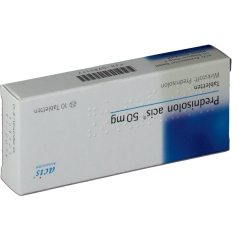 Prednisolon Acis 50 mg Tabletten