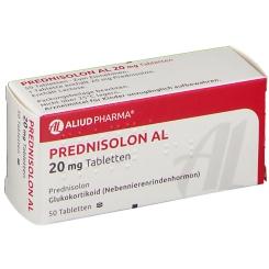 PREDNISOLON AL 20 mg