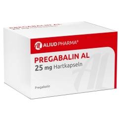 PREGABALIN AL 25 mg Hartkapseln