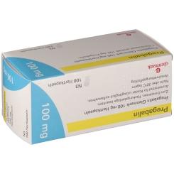 PREGABALIN Glenmark 100 mg Hartkapseln