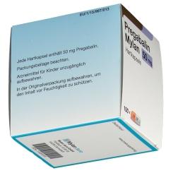 PREGABALIN Mylan 50 mg Hartkapseln