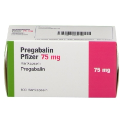 PREGABALIN Pfizer 75 mg Hartkapseln