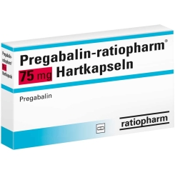 PREGABALIN RATIO 75 MG