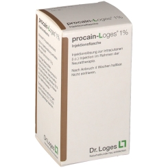 procain-loges® 1% Injektionsflasche
