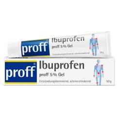 proff® Ibuprofen proff 5 % Gel