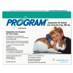 Program® Suspension für Katzen von 4,5 kg bis 9 kg