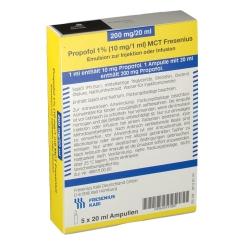 Propofol 1% 10 mg / 1 ml