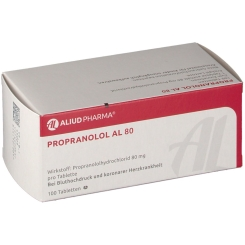 Propranolol Al 80 Tabletten