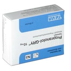 Propranolol Gry 10 Tabl.