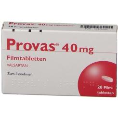PROVAS 40 mg Filmtabletten