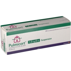 Pulmicort 1,0 mg/2 ml Suspens.z.Inhalat.