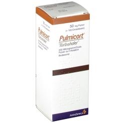 Pulmicort Turbohaler 200ug 100ed Inhalat.Plv.
