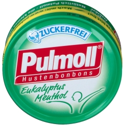Pulmoll® Hustenbonbons Eukalyptus zuckerfrei