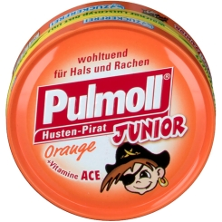 Pulmoll® Junior Hustenbonbons Orange zuckerfrei