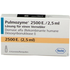 PULMOZYME Loesung z. Inhalation Kunststoffampullen