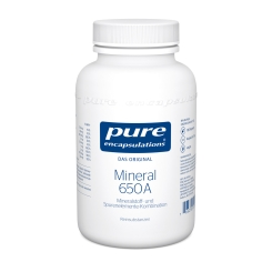 pure encapsulations® Mineral 650A