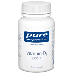 pure encapsulations® Vitamin D3 1000 I.E.